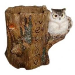 Горшок Сова на дереве HA07035(Р3)