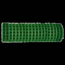 Садовая решётка в рулоне 1х20 м, ячейка 60х60 мм - зелёная   64516