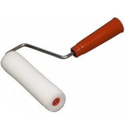 """Мини-валик """"РАДУГА"""" поролоновый в наборе 3 шубки + ручка, 40x65мм"""