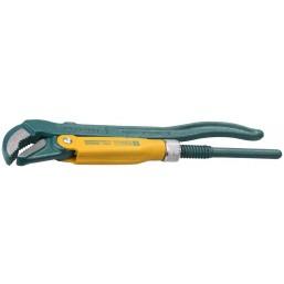 """Ключ KRAFTOOL трубный, рычажный, тип """"PANZER-V"""", изогнутые губки, цельнокованный, Cr-V сталь, 2""""/580"""