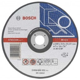 ОБДИРОЧНЫЙ КРУГ МЕТАЛЛ 150Х6 ММ 2608600389 Bosch