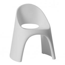 Кресло пласт. Amelie, белый, 59x67см, h-87 (SDAME080A)   SLIDE Италия