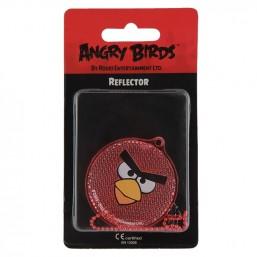 """Пешеходный светоотражатель """"Angry Birds"""", цвет: красный"""