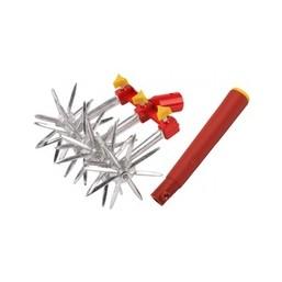 Набор GRINDA садовый: культиватор 6-звездочный, ручка пластмассовая