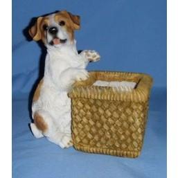 Горшок Собака с корзинкой HP07149(Р5)