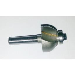 Фреза галтельная с подшипником 12х35x18x8 мм Интерскол 2198501803501