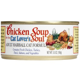 CHICKEN SOUP Canned Adult Hairball Для взрослых кошек с выводом шерсти 156 гр