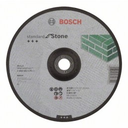 Отрезной круг Standard по камню 115х2.5мм SfS, вогнутый
