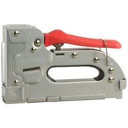 """Пистолет STAYER """"EXPERT"""" скобозабивной пластинчатый регулируемый тип 53, тип300: 10-16мм, тип500: 14"""