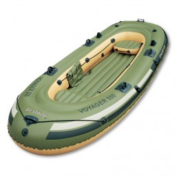 Лодка Voyager 500 3 местная до 253 кг 348*142 см Bestway 65001