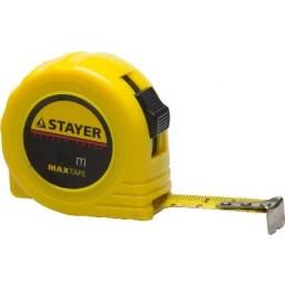 "Рулетка STAYER ""МASTER"" ""MaxTape"", пластиковый корпус, 10м/25мм"