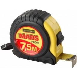 "Рулетка STAYER ""PROFI"" ""MARS"", обрезиненный корпус, 7,5мх25мм"