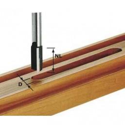 Фреза пазовая HW с хв. 12 мм HW S12 D18/45