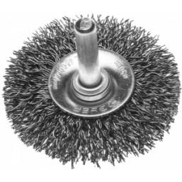 """Щетка ЗУБР """"ЭКСПЕРТ"""" дисковая для дрели, витая стальная проволока 0,3мм, 50мм"""