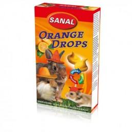 SK7150 SANAL (для грыз) Orange Drops 45г (Апельсиновые дропсы  + Вит. С) (14шт)