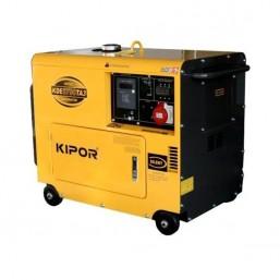 Дизельный генератор в тихом кожухе KIPOR KDE6700TA3+KEA40026DP52A