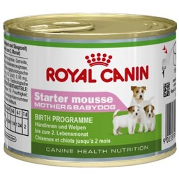 Консервы для собак Royal Canin Starter Mousse 195g.
