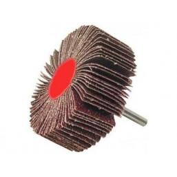 """Круг шлифовальный ЗУБР """"МАСТЕР"""" веерный лепестковый, на шпильке, тип КЛО, зерно-электрокорунд нормальный Р80 (36600)"""