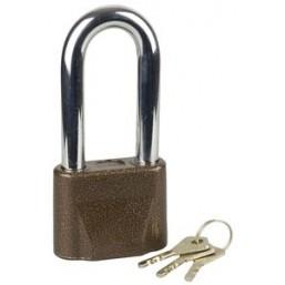 """Замок ЗУБР """"МАСТЕР"""" навесной, общего применения, дисковый механизм секрета, ключ 7 """"пинов"""", дужка d-"""