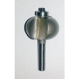 Фреза шаровидная с подшипником 8х30x16x8 мм Интерскол 2201501803001