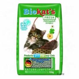 BIOKAT'S FRESH 10KG Наполнитель с луговыми травами