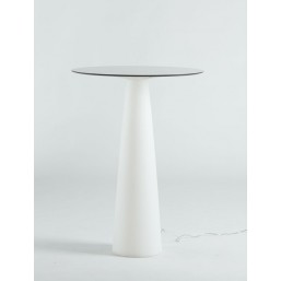 Hopla White стол круглый  d-69, высота 110