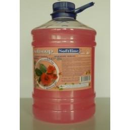"""Мыло   жидкое   """"Softsoap""""   3,0 л.   Роза"""