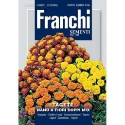 Тагетес карликовый махровый Nano Fiori Doppi, смесь (2,5 гр)  DBF 353/3