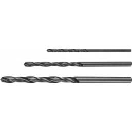"""Набор ЗУБР """"ТЕХНИК"""": Свёрла по металлу парооксидированных, быстрорежущая сталь, 2, 3, 4мм, 3шт"""