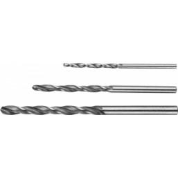"""Набор ЗУБР """"МАСТЕР"""": Свёрла по металлу, цилиндрический хвостовик, быстрорежущая сталь Р6М5, 2, 3, 4м"""