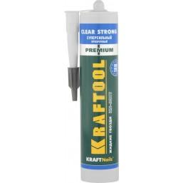 Клей монтажный KRAFTOOL KraftNails Premium KN-601T, суперсильный, прозрачный, 310мл mod