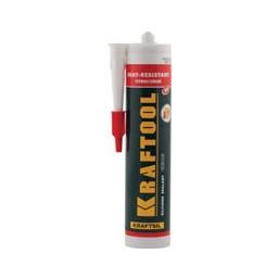 Герметик силиконовый KRAFTOOL красный, температуростойкий (от -62 С до 275 С), 300мл, mod