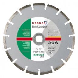 4230110 алмазные диски по армированному бетону LT 56 230x2,4x22,23 сигм Dronco