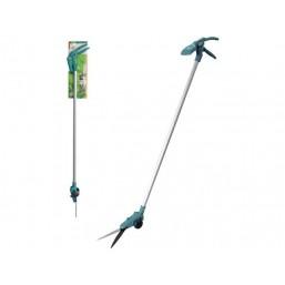 Ножницы RACO для  стрижки травы, на удлинителе с колесами, поворот. механизмом 90 град, 900 мм