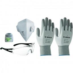Набор 2 - Защитные очки, маска, беруши перчатки