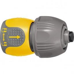 Соединитель для шланга универсальный, аквастоп, PALISAD LUXE 66246