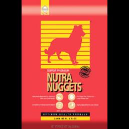 Для взрослых собак Nutra Nuggets Lamb Meal & Rice 15 кг арт.NN04