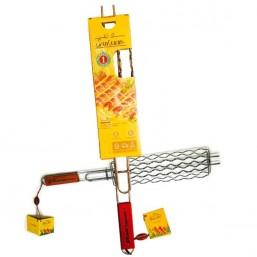 Решетка гриль для сосисок CW Sosisson (размер 290*80*25мм., хромир.сталь, вес 0.35кг.) BL-008