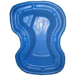 Пруд синий 165*115*50 см (400л)