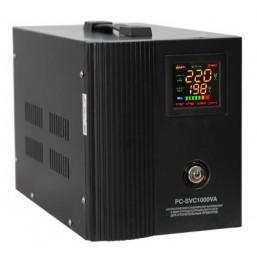 Стабилизатор PC-SVR 1000VA Верт. (Эл.) черный