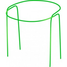 Опора для цветов круг 0,25м, выс.0,7м 1 шт.  диаметр 10мм  64462