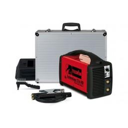 Сварочный аппарат с инвертором Telwin Technology 216 HD+ACC с электродами MMA и TIG-LIFT