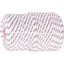 Фал плетёный полипр. 16-прядный с полипр. серд. 8 мм СИБРТЕХ 93966