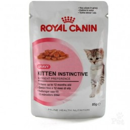 Royal Canin Kitten Instinctive (в желе) 12*85G