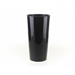 Кашпо Лилия 300мм, черный