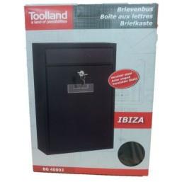 32051009 Почтовый ящик IBIZA ( 301х260х90)  металлический черный BG.400.02 Arthis GmbH