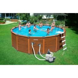 Каркасный бассейн Intex 54972 488 см х 124 см