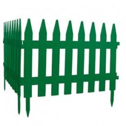 "Забор декоративный ""Кантри"", 29 х 224 см, зеленый  PALISAD  65003"