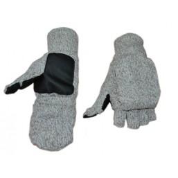 Перчатки-рукавици вязанные 5544