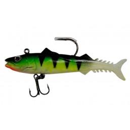 Твистер 5505 рыбка 10см оснащенная в пачке 3шт